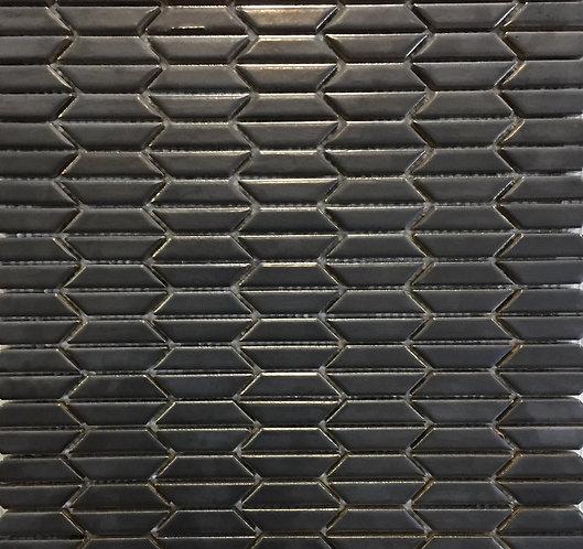 Metal Charcoal Solarium Mosaic 283x304mm