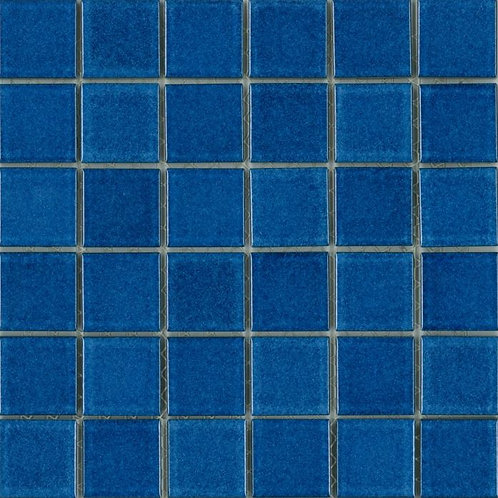 St Martin Royal Blue Mosaic 297x297x4mm (47x47mm chip)