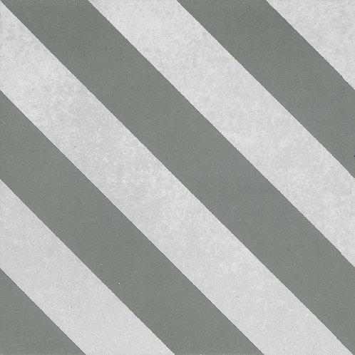 Artisan Milan Forest Diagonal Stripe Pattern 200x200x7mm