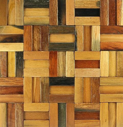 Caribbean 303 Vitric Natural Timber Panels Polished 300x300