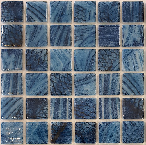 Kona Shark Glass Mosaic 310x310x4mm (25x25mm chip)