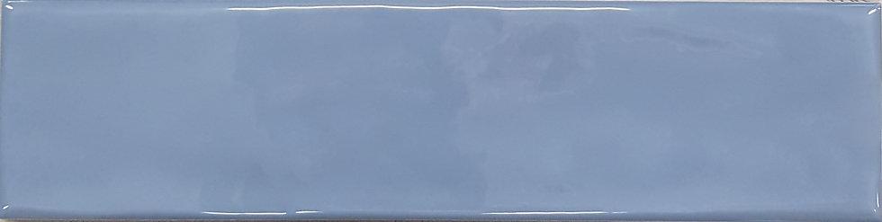 Lush Dark Blue Textured Gloss Subway 75x300x10mm