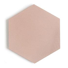 Paradise Peony Hexagon Encaustic Rect 150x150x15mm