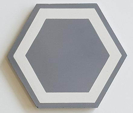 Bespoke Honey Octagon Encaustic 200x230x14mm