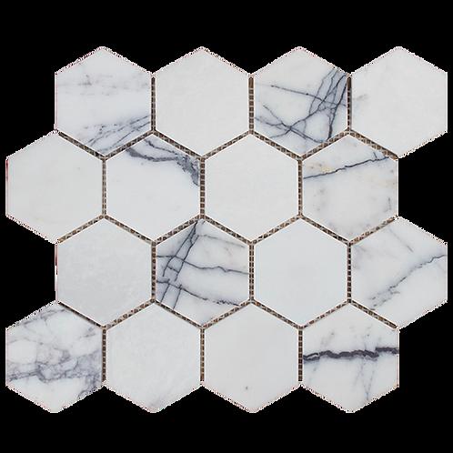 New York Honed Hexagon Mosaic 289x250x10mm