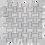 Thumbnail: Basketweave Carrara D Honed & Thassos Dot Polished 305x305x10mm