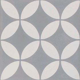 New Farm Daisy Flower in Grey & White 200x200x14mm