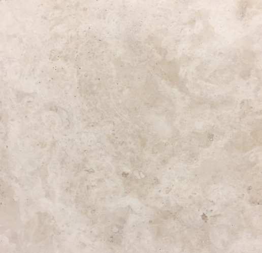 Pompeii Light Travertine  Honed and Filled 610x610x12mm