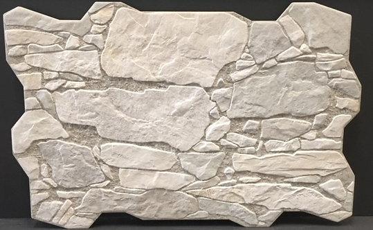 Wall Rock Blanco Interlocking Porcelain 400x600x10mm