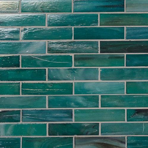 Lumina Turquoise Mosaic Glass 318x254x5mm