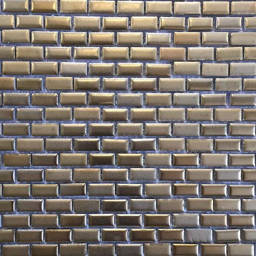 Rhine Brick Mosaic 300x300mm