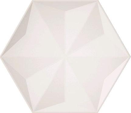 Frozen Crystal White Satin Ceramic Feature Tile 258x298x8mm
