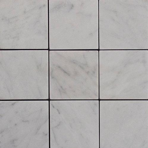 Tumbled Italian Carrara 98x98x10mm