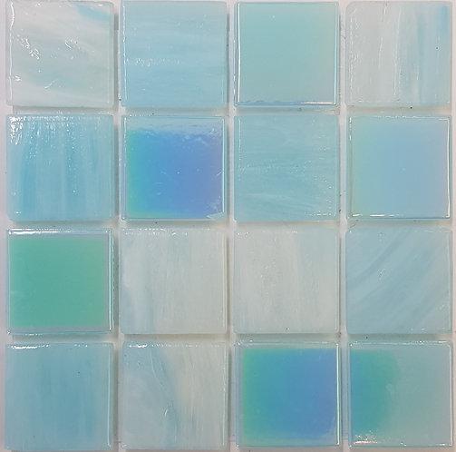 Pacific Two Emanuela Glass Pool Mosaic 322x322x4mm (20x20mm chip) Hotmelt