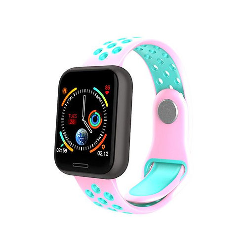 C68 Smart Watch - Pink/Blue