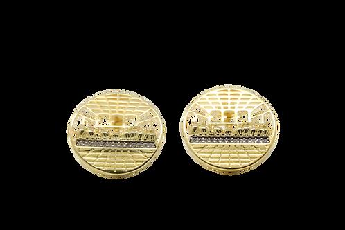 Last Supper Earrings - Gold