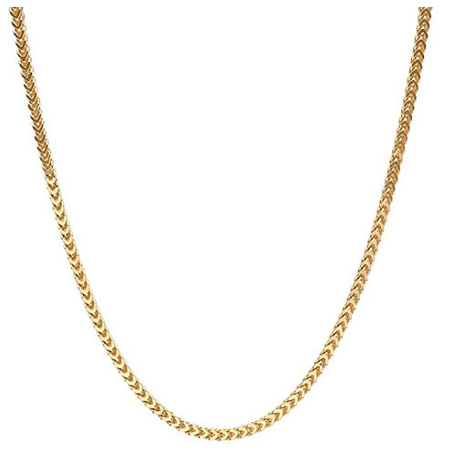 Steel Franco Chain - Gold