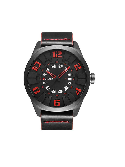 Curren Dial - Black/Red