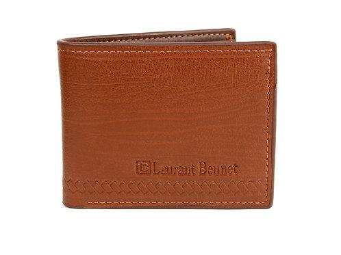 LB Base Bi-Fold Men's Wallet - Brown