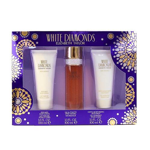 White Diamonds by Elizabeth Taylor - 3 Piece Set