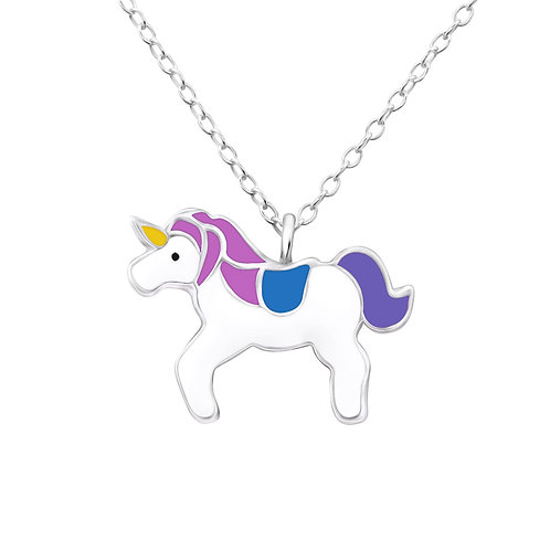 Unicorn Necklace - Purple