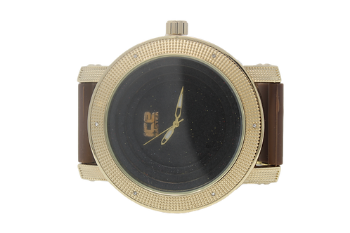 Tray Face Watch - Brown, Black