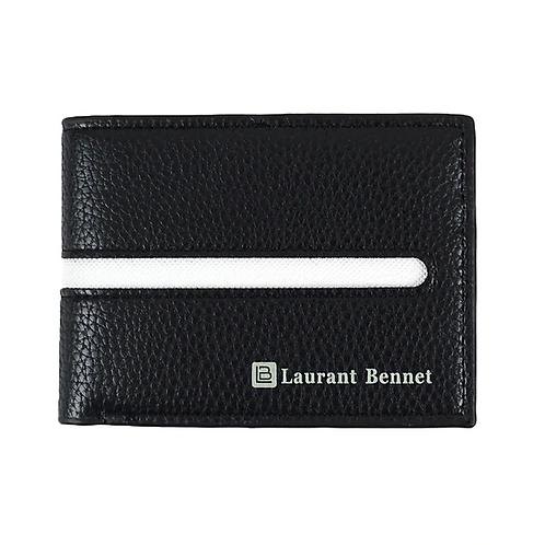 LB Equator Bi-Fold Men's Wallet - White