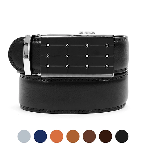 Silver Stud Slide Belt