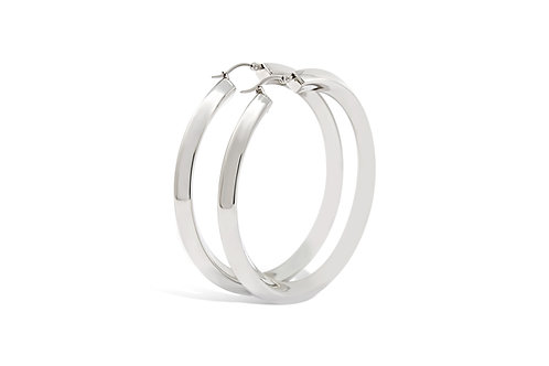 Stainless Steel Hoops - 6x61mm