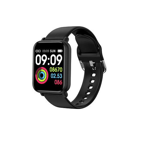 R16 Smart Watch - Black