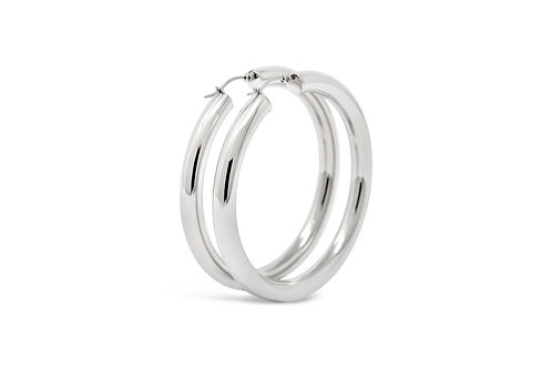Stainless Steel Hoops - 6x61mm