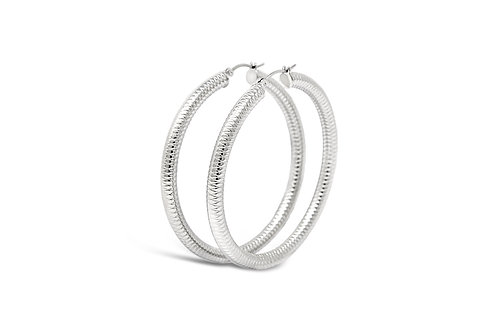 Stainless Steel Hoops - 5x60mm