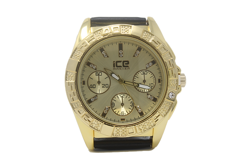 Clocksworth CZ Watch - Gold