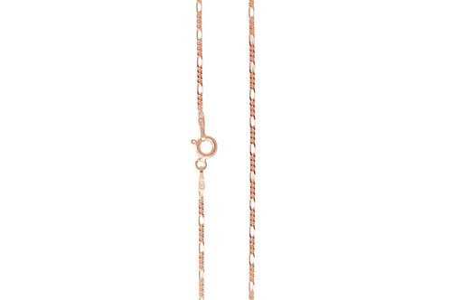 Figaro 1.5mm - Rose Gold