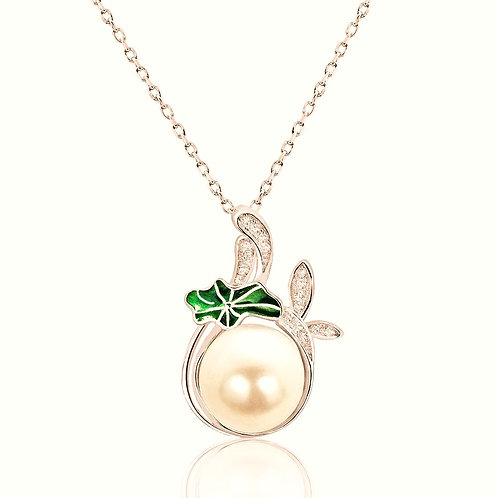 Exquisite Rose Peal Necklace - Rose Gold