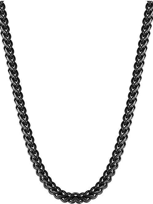 Steel Franco Chain - Black