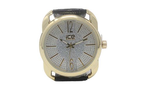 Ice Master Micropave Watch - Gold, Silver