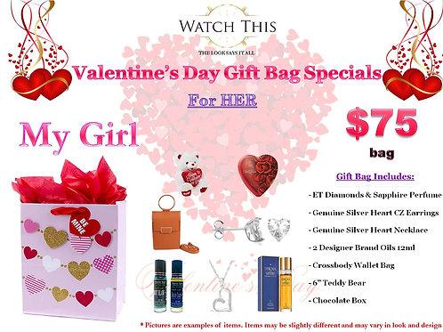 "Ladies ""My Girl"" Valentine's Day Gift Bag"