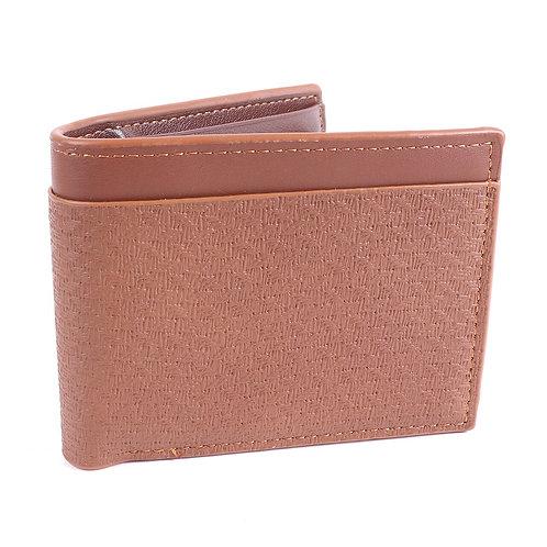 LB Peeled Bi-Fold Men's Wallet - Brown