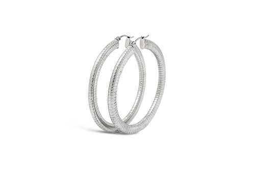 Stainless Steel Hoops - 4x55mm