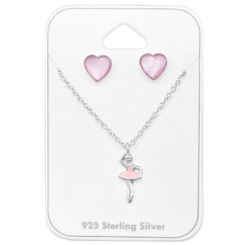 Silver Ballerina Set
