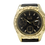 Thumbnail: Clocksworth CZ Watch - Gold, Black