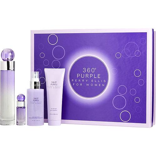 Perry Ellis 360 Purple - 4 Piece Set