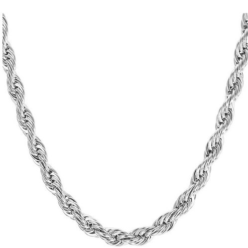 Steel Rope Chain - Silver