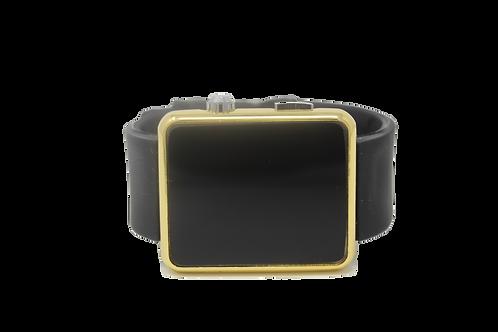 LED Sports Watch - Black, Gold