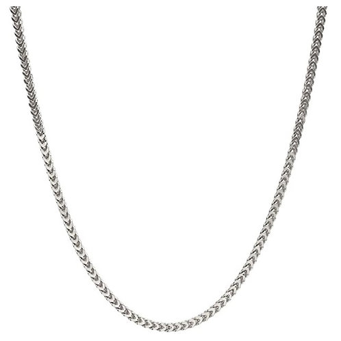 Steel Franco Chain - Silver