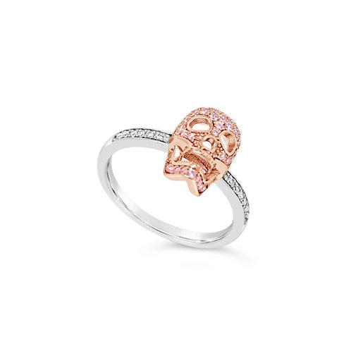 Skull Ring - Rose Gold