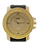 Thumbnail: Tray Face Micropave Watch - Gold