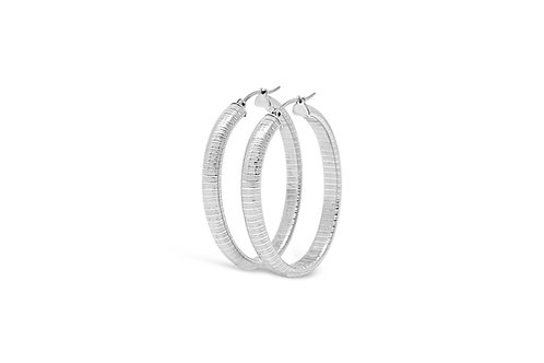 Stainless Steel Hoops - 6x37mm