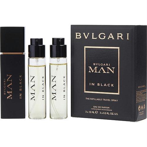 Bvlgari Man In Black by Bvlgari - Travel Set